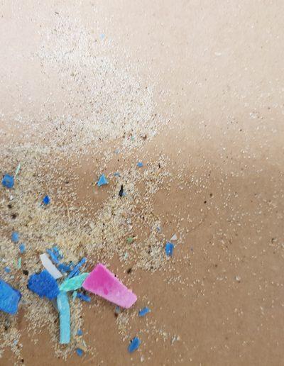 plastic sand | 2018 | sand, plastic