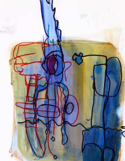 Untitled | 2017 | 297x420mm | ink, marker